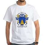 Temple Coat of Arms White T-Shirt