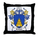Temple Coat of Arms Throw Pillow