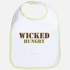 Cute Hungry baby Bib