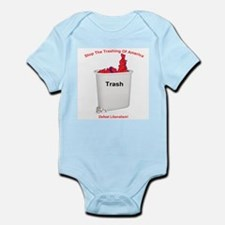 Stop The Trashing Of America Infant Creeper