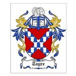 Tayre Coat of Arms Small Poster