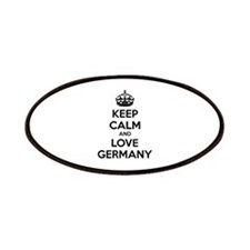 Keep calm and love Germany Patches
