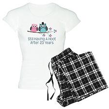 23rd Anniversay Owls Pajamas