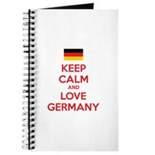 Keep calm and love Germany Journal