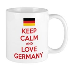 Keep calm and love Germany Mug