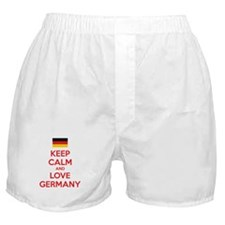 Keep calm and love Germany Boxer Shorts