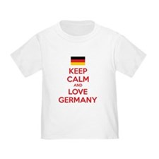 Keep calm and love Germany T