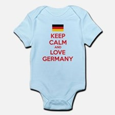 Keep calm and love Germany Infant Bodysuit
