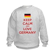 Keep calm and love Germany Sweatshirt