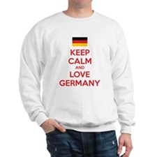 Keep calm and love Germany Jumper