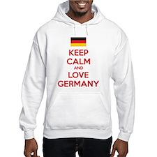Keep calm and love Germany Jumper Hoody