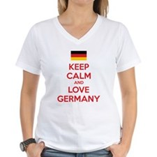 Keep calm and love Germany Shirt