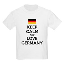 Keep calm and love Germany T-Shirt