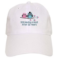 22nd Anniversay Owls Baseball Cap