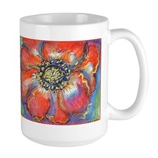 Poppy! Red Flower! Art! Mug