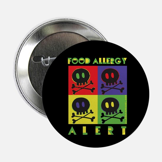 "food allergy alert 2.25"" Button"
