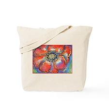 Poppy! Red Flower! Art! Tote Bag