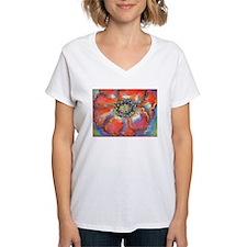 Poppy! Red Flower! Art! Shirt
