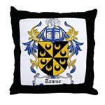 Tawse Coat of Arms Throw Pillow