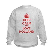 Keep calm and love Holland Sweatshirt