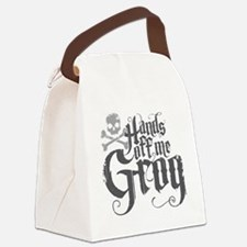 Hands Off Me Grog Canvas Lunch Bag