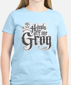 Hands Off Me Grog T-Shirt