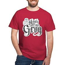 Hands Off Me Grog T-Shirt