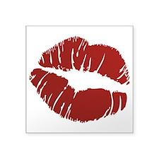 """Kiss Square Sticker 3"""" x 3"""""""