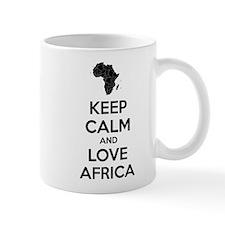 Keep calm and love Africa Mug