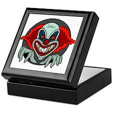 Evil Clown Keepsake Box