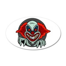 Evil Clown Wall Sticker
