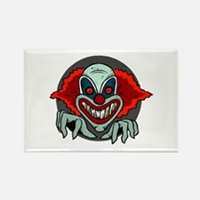 Evil Clown Rectangle Magnet