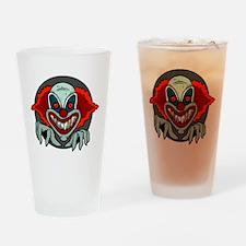 Evil Clown Drinking Glass