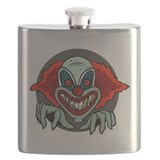 Evil clown Flasks