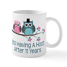11th Anniversay Owls Mug