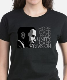Obama - Hope Over Division - Grey T-Shirt