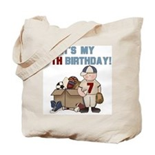 I Love Sports 7th Birthday Tote Bag