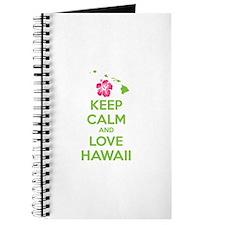 Keep calm and love Hawaii Journal