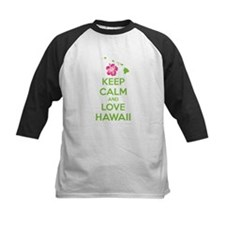 Keep calm and love Hawaii Tee