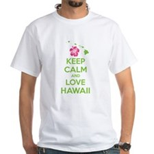 Keep calm and love Hawaii Shirt