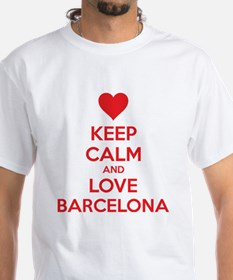Keep calm and love Barcelona Shirt