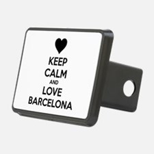 Keep calm and love Barcelona Hitch Cover