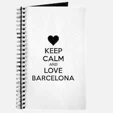 Keep calm and love Barcelona Journal