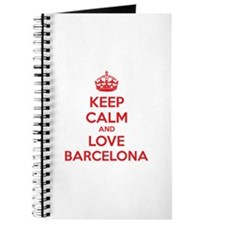 Keep calm and love Barcelona Journal