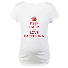 Keep calm and love Barcelona Shirt