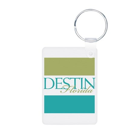 Destin Florida Aluminum Photo Keychain