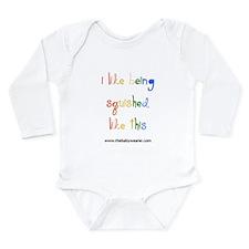 Squished II Long Sleeve Infant Bodysuit