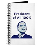 Obama: President of All 100% Journal
