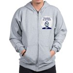 Obama: President of All 100% Zip Hoodie