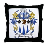 Struthers Coat of Arms Throw Pillow